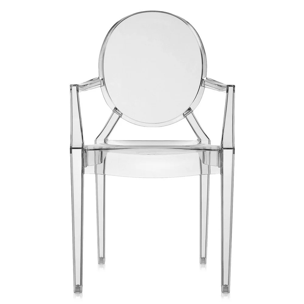 Louis Ghost Armchair by Kartell.